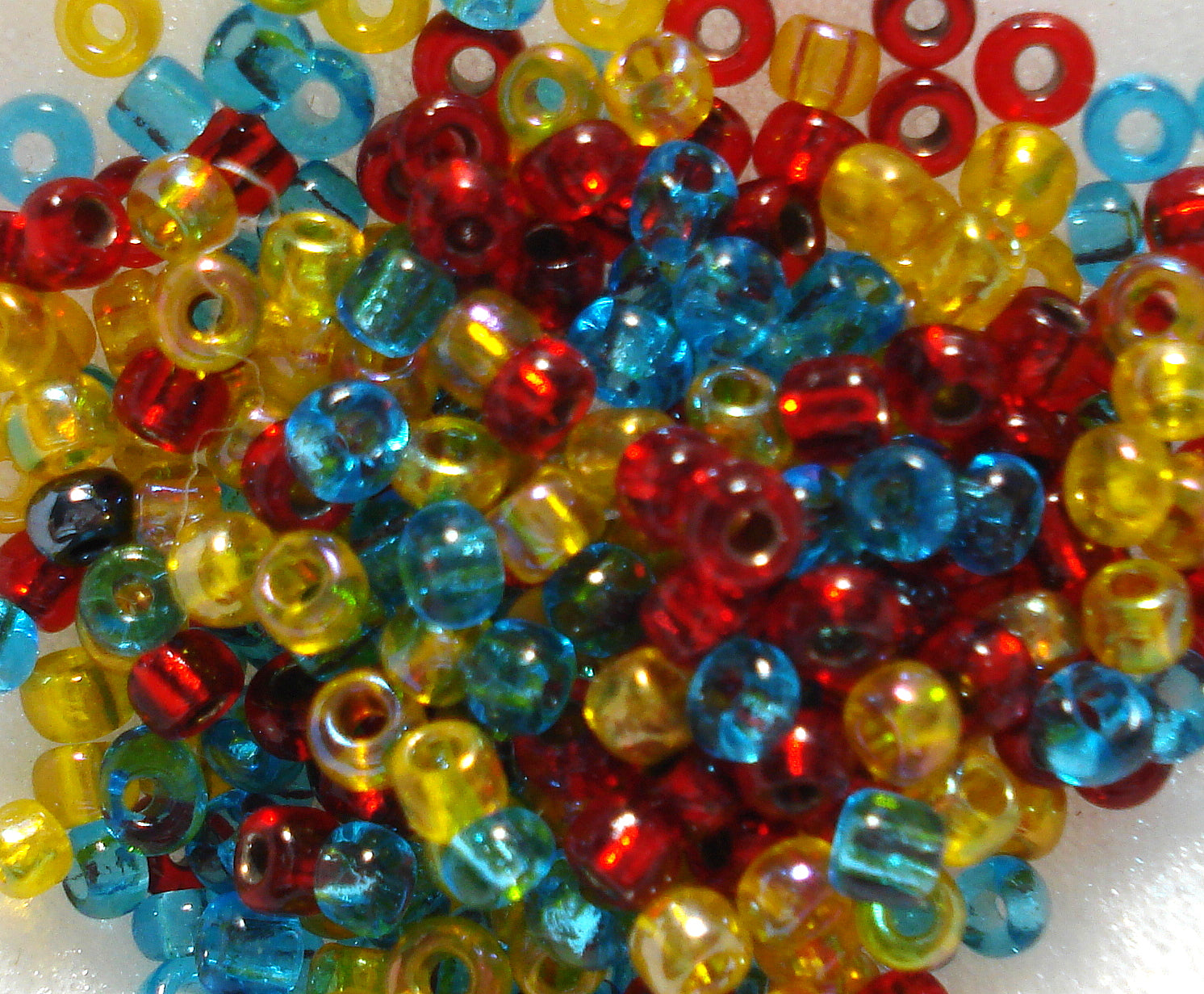 2.5MM BEAD COLOR MIX 10/PK