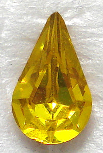 8X4.8MM (4300) CITRINE YELLOW PB PEARS