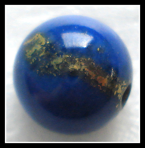 8MM NATURAL LAPIS LAZULI GRADE A BEADS