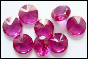 4MM SYNTHETIC RUBY JULY BIRTHSTONES
