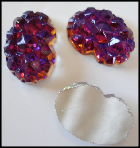 18X13MM (0105) VOLCANO GLASS NUGGETS