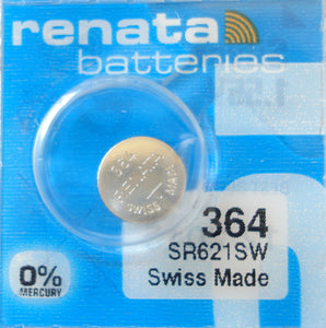 WATCH BATTERY #364