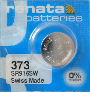 WATCH BATTERY #373