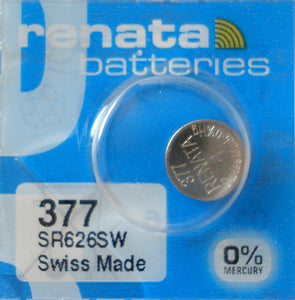 WATCH BATTERY #377