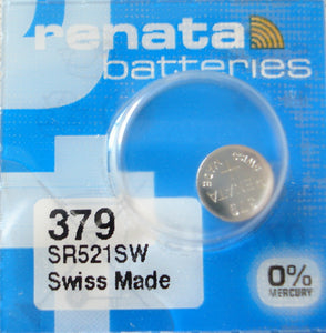 WATCH BATTERY #379