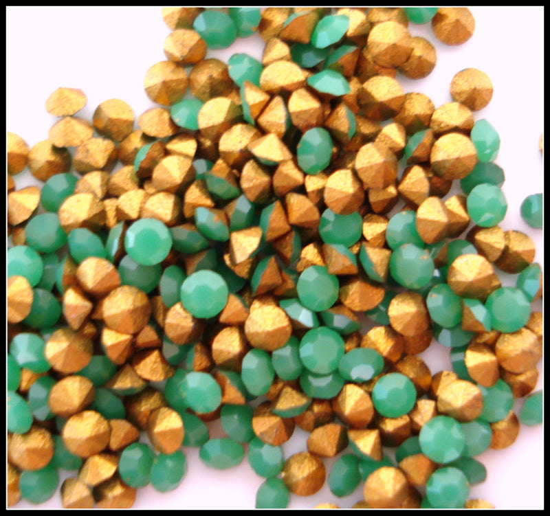 1.6MM (1100) 10PP APPLE GREEN COLOR ROUNDS
