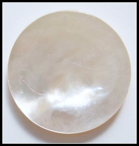 13MM (KA) MOTHER OF PEARL ROUND DISCS
