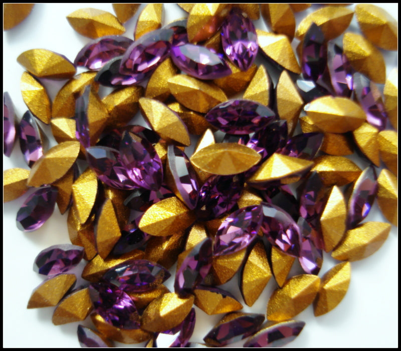 4X2MM (4200) AMETHYST COLOR MARQUISES