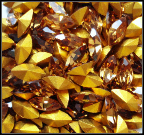 6X3MM (4200) LIGHT SMOKED TOPAZ MARQUISES
