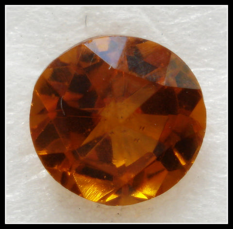 7.1-7.3MM (1357) 34SS UNFOILED TOPAZ FULLY FACETED TOP