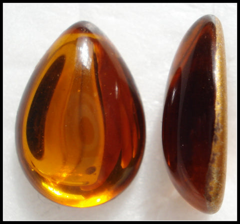18X13MM (3331) TOPAZ PENDALOQUE CABS