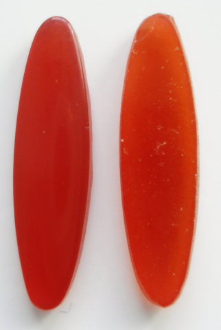 22X6MM (2195) LOW DOME CORNELIAN OVAL CABS