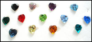 5.5X5MM (4800) HEART SHAPES RHINESTONES