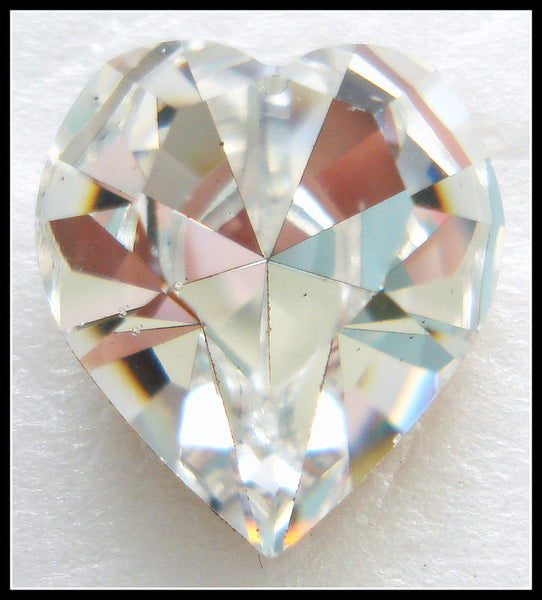 15.4X14MM (4800) FOILED CRYSTAL HEARTS