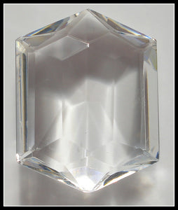 26X20MM (4730/2) UNF CRYSTAL HEXAGONS