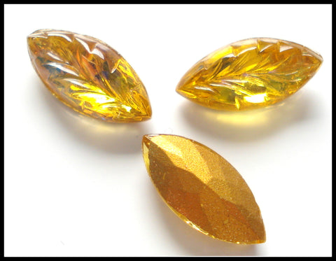 15X7MM TOPAZ COLOR MARQUISE LEAVES