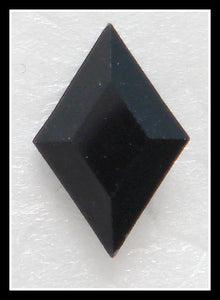10.5X7MM (4710) JET BLACK DIAMONDS