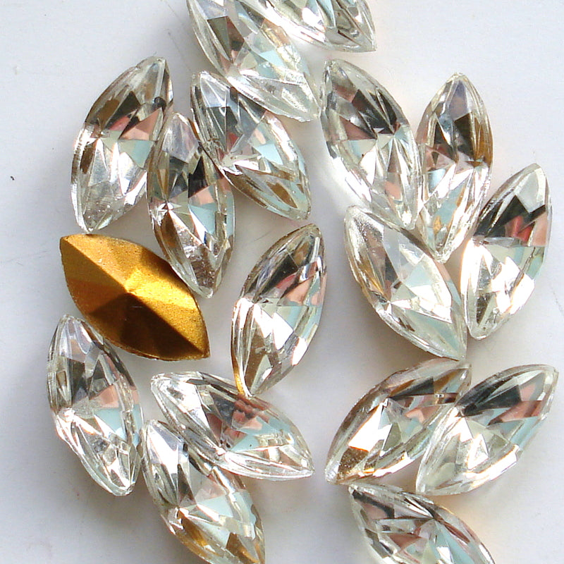 10X5MM (4200/2) CRYSTAL MARQUISES