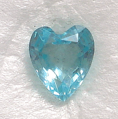 7X6MM (4800) UNFOILED AQUA HEARTS