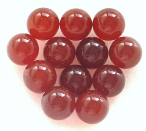 6MM (S6) NATURAL CARNELIAN GEM BALLS