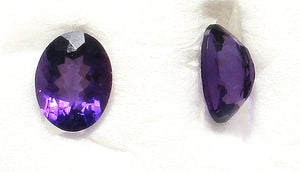 9X7MM (SS02) SIMULATED AMETHYST OVAL