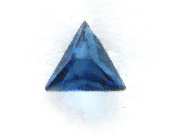 3.5MM (SS09) SIMULATED SAPPHIRE FRENCH CUT TRIANGLES