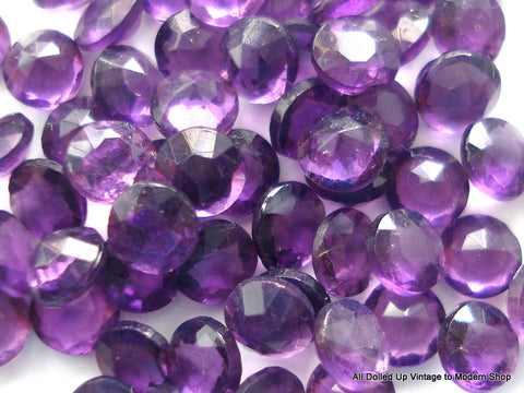 3.25MM (1200/2) UNFOILED AMETHYST DENTELLES 10PK/$1.00