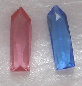 10x3mm Pointed End Baguettes
