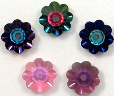 6mm (3700) Glass Fancy Margaritas
