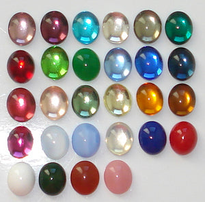 12x10mm (2195) OVAL CABOCHONS