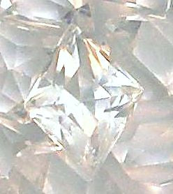 10.5x8.5mm (4710) Crystal Unfoiled Diamond Shape