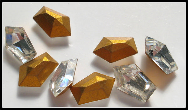 7.5x5mm (211) Crystal Elongated Pentagon