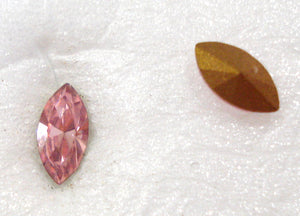 6x3mm (4200) Light Rose Marquise