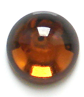 2.5mm (2194) Smoked Topaz Round Cabochon