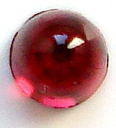3mm (2099/4) Ruby  Round Cabochon (High Dome)