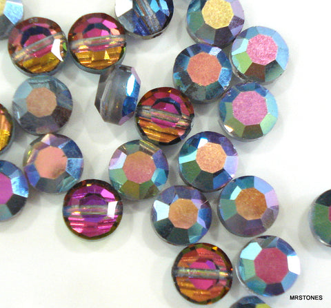 6mm (5100) Swarovski Vitrail Medium Glass Beads