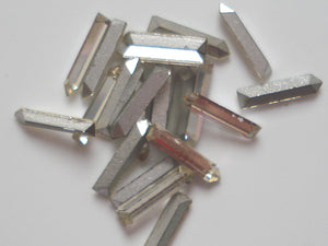 8x2mm (152) Crystal Pointed End Baguettes