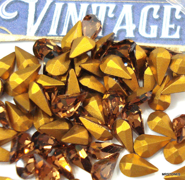 6x3.6mm (4300) Colorado Topaz Pear Shape