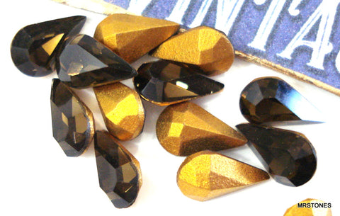 8x4.8mm (4300) Smoky Quartz Pear Shape