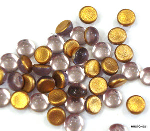 4mm (2194) Light Amethyst Round Cabochon