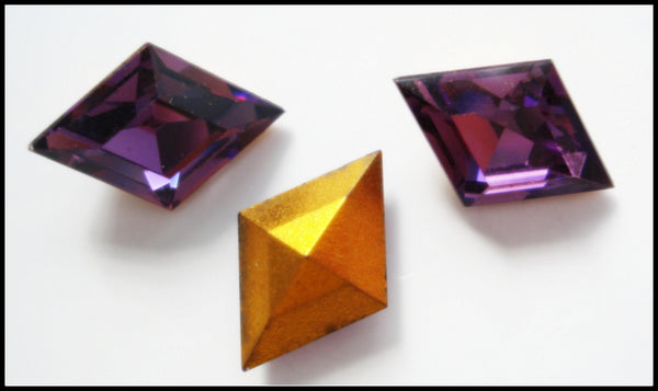10.5x7mm (4710) Amethyst Diamond Shape