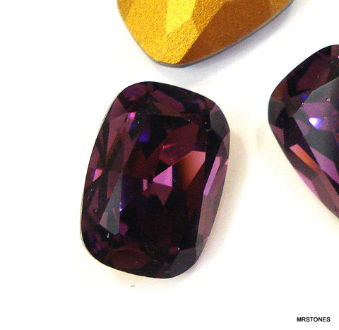 14x10mm (4570) Amethyst Antique Cushion Shape