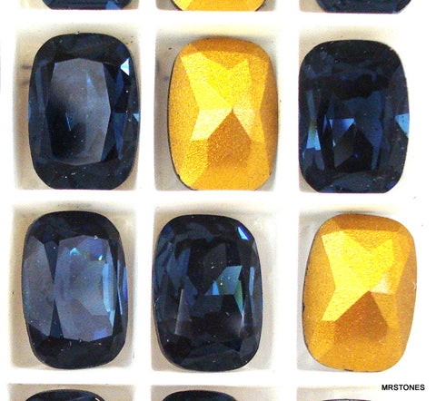 14x10mm (4570) Montana Sapphire Antique Cushion Shape