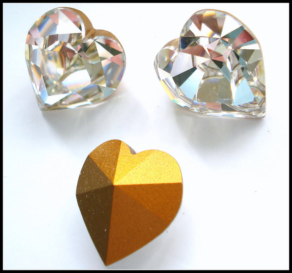 18.7x17mm (4800) Crystal Heart Shape