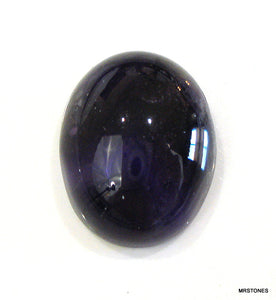 19x15mm Natural Amethyst Oval Cabochon