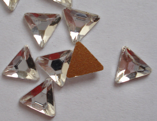 5.75mm (2722) Crystal Flat Back Triangle