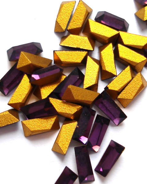 5x3x2.5mm (4700) #17 Amethyst Tapered Baguette