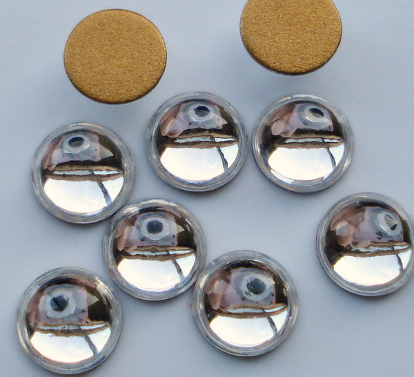 6mm (2194) Crystal Round Cabochon