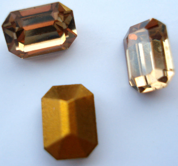 7x5mm (4600) Light Colorado Topaz Cushion Octagon