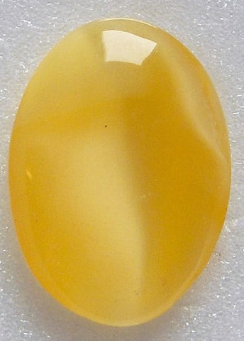 18x13mm (3188) Honey Yellow Moonstone Buff Top Doublet Oval Shape